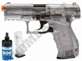 PPQ BB Gun | Walther Official Airsoft Spring Pistol Clear 2 Tone | KOMBATKIT SHOP
